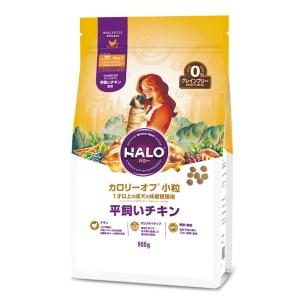 HALO Calorie Off 無穀物新鮮雞肉 小型成犬狗糧 小粒 900g (低卡路里, 體重管理)