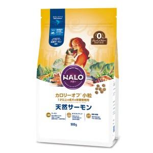 HALO Calorie Off 無穀物三文魚 小型成犬狗糧 小粒 900g (低卡路里, 體重管理)