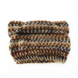 Natural Stripes Cat Ear Hat