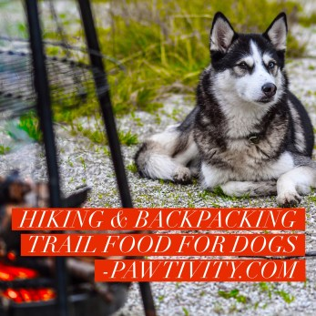 Hiking & Backpacking Trail Food For Dogs