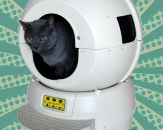 Litter-Robot™: The Automatic Self-Cleaning Litter Box Robot