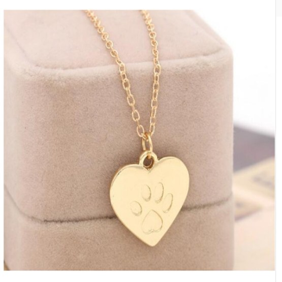 Paw Print Necklace 1
