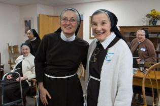 Sister Karen and Sister Miriam