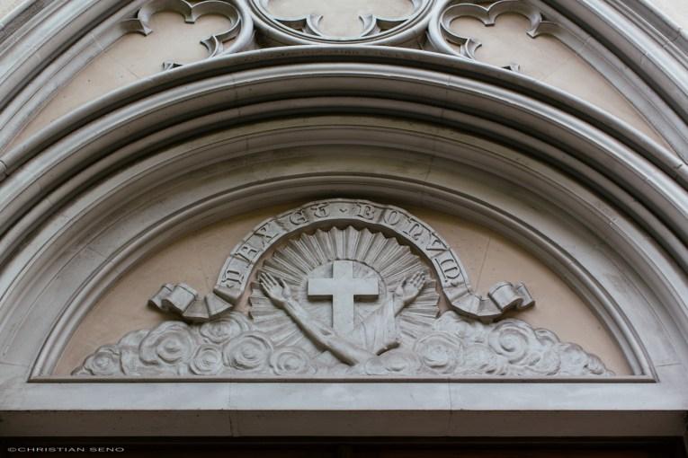 The door at Santuari Sant Antoni de Pàdua