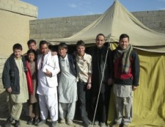 Members of the Afghan Youth Peace Volunteers