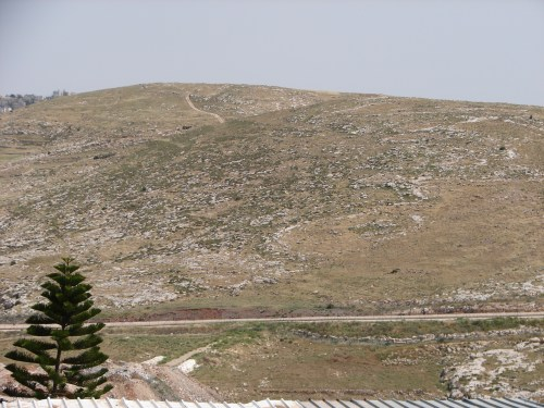 View from the Shepherds' Field, Beit Sahour, Palestine.