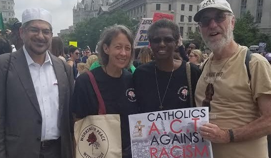 8-2018 protesting the KKK