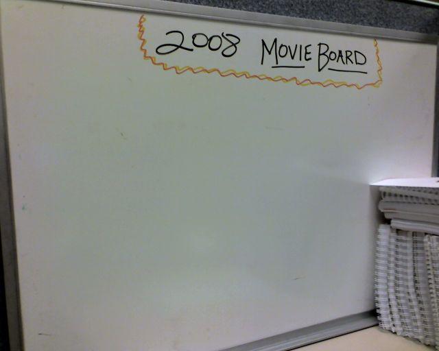 Movie Board 2008
