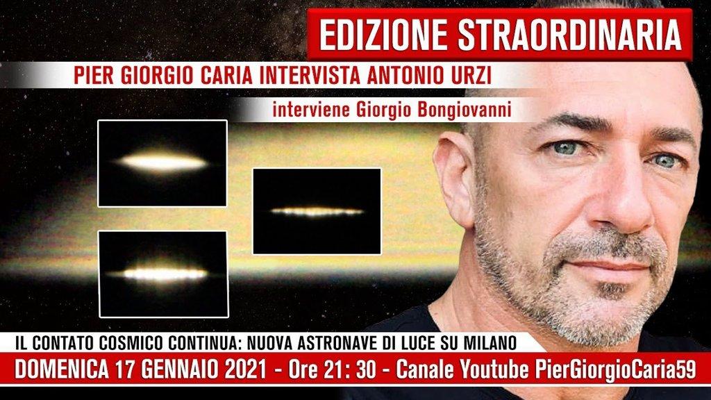 Il contatto cosmico continua nuova astronave di Luce su Milano
