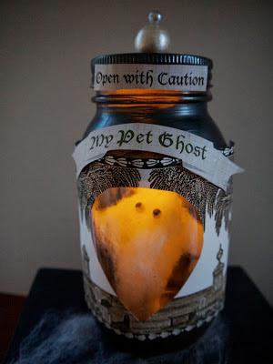 halloween activity pet ghost