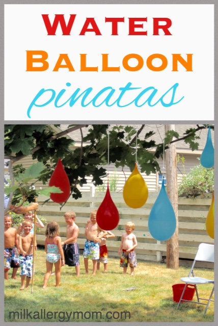 Milk Allergy Mom - Water Pinatas