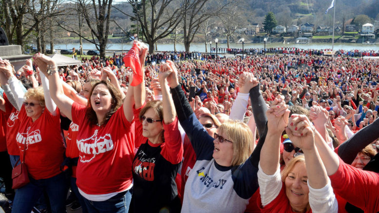 Image result for west virginia teachers strike