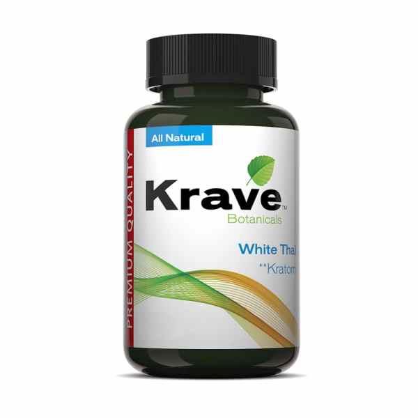 Krave Kratom Capsule - White Thai
