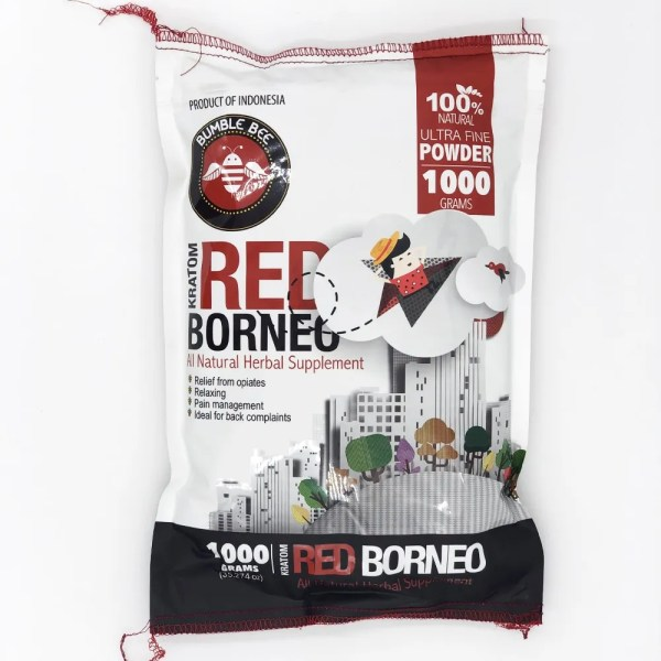 bumble bee red borneo kratom 1000 grams