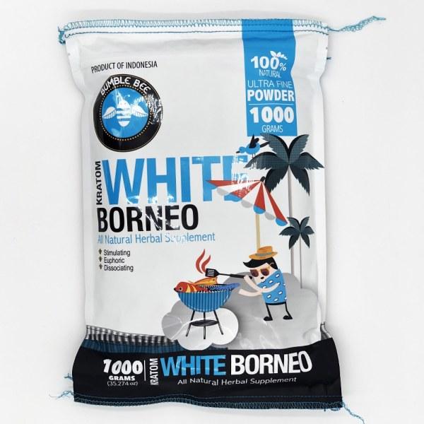 bumble bee white borneo kratom 1000 grams