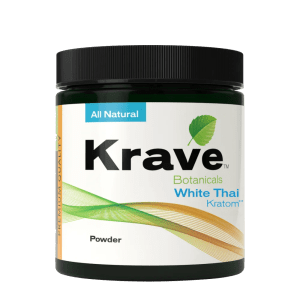 Krave Kratom Powder - White Thai