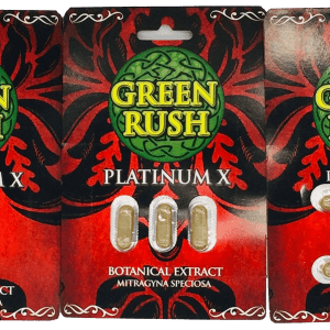 green rush platinum x