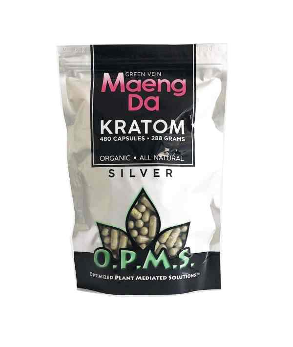 OPMS Silver Kratom Capsules
