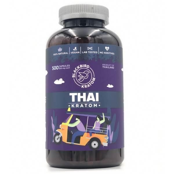 Black Bird Thai Kratom Capsules