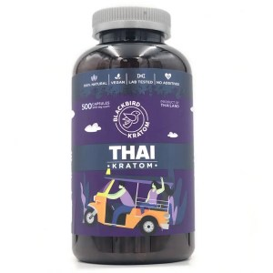 Black Bird Thai Kratom Capsules
