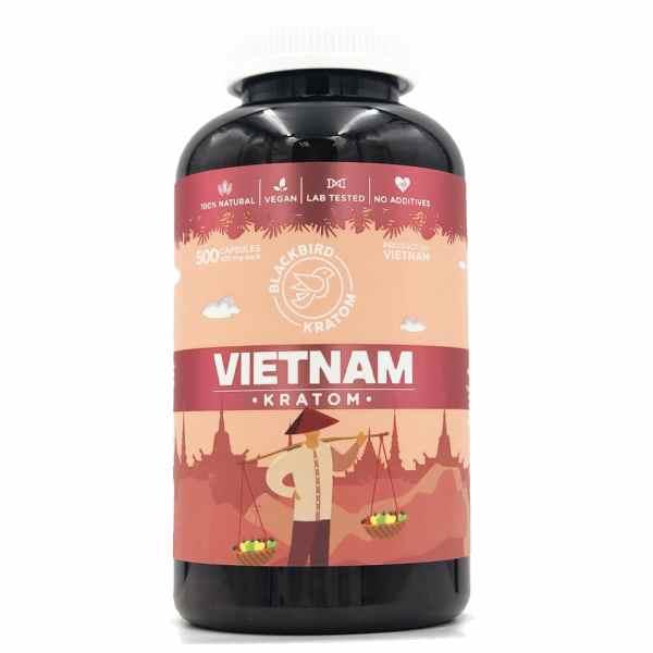 Black Bird Vietnam Kratom Capsules