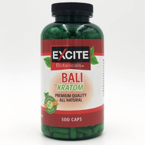 excite kratom bali capsules