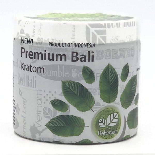 the better leaf premium bali kratom