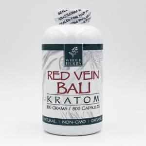 whole herbs red vein bali