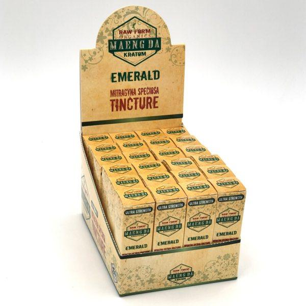 raw form organics emerald kratom shot box