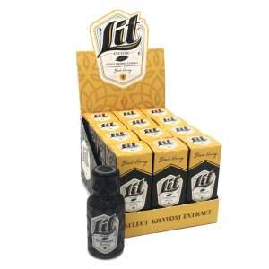 lit culture liquid kratom shot box