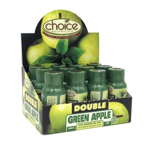 choice kratom shot double apple