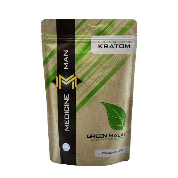 Medicine Man Green Malaysian Kratom Powder