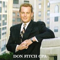 Don Fitch, CPA in 1996.  Don Fitch, CPA is the proud Owner of Don Fitch Accountancy. Current professional services include a valuable service at a reasonable price by providing tax returns to taxpayers from 1980 to present (past 40+ Years) and for any of the 50 States.  In 1996 the firm was located in many cities including 2 offices in San Francisco, 3 offices in Manhattan (Wall Street), Seattle, Portland, Dallas, Pittsburgh, Cleveland, and San Jose.  Accomplishments include having over 100 successful IRS Offers In Compromise.