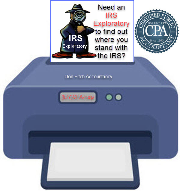 IRS Exploratory Engagement Paperwork - Click on to Download the IRS Exploratory Engagement Paperwork in a pdf format.