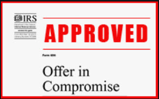 Approved Offer in Compromise