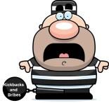 Kickbacks and Bribes