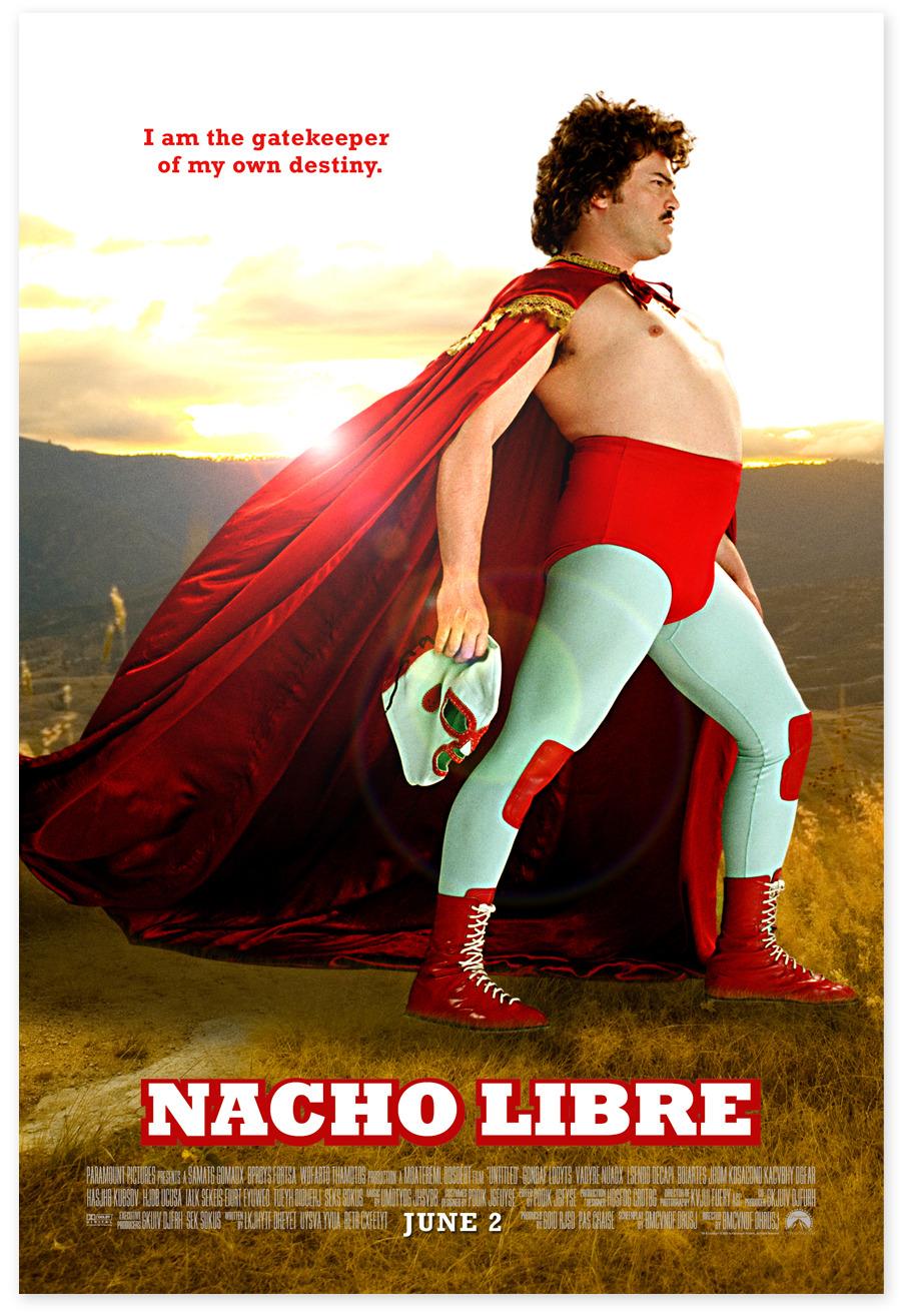 nacho libre posters melissacassara