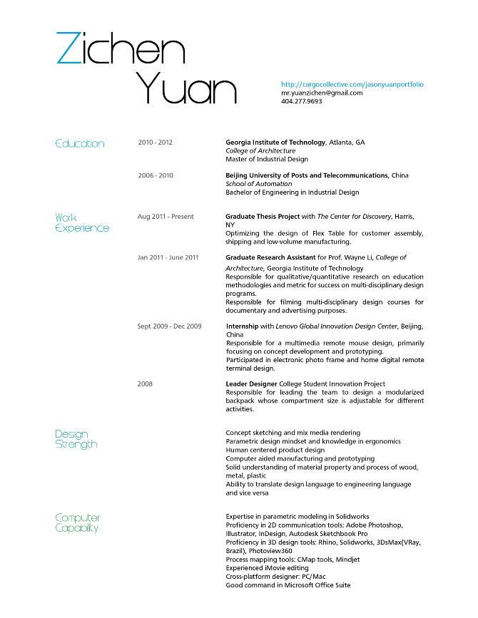 industrial designer resume stunning examples of creative cv resume