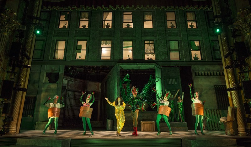Little Shop Of Horrors Oliver Wason Lighting Design