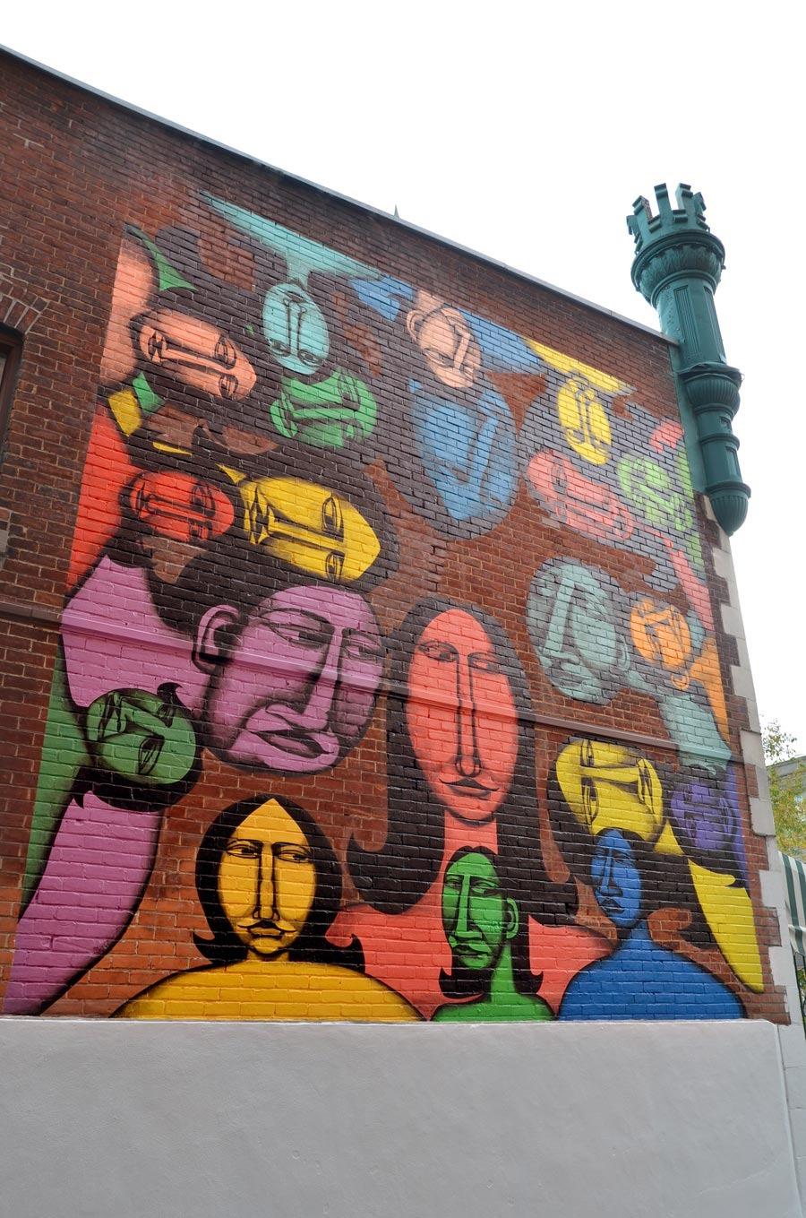 Labrona Montral Unurth Street Art