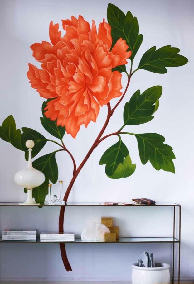 Flower Murals Www Ericdbeare Com