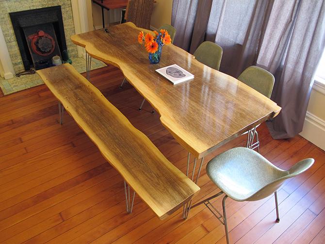 Plywood Slab Table Tim Delger