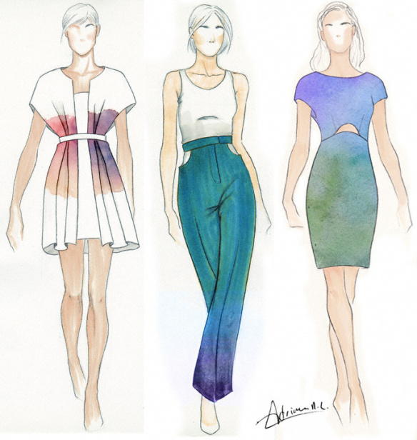 fashion sketches   Toma daretodonate co fashion sketches