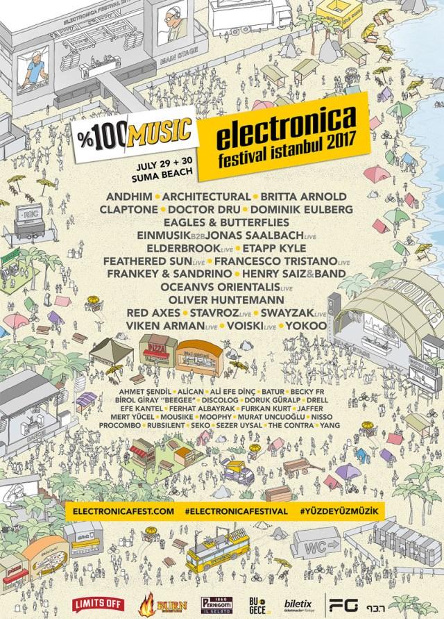 Картинки по запросу Electronica Festival İstanbul 2017