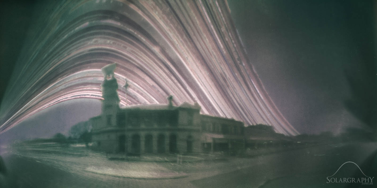 Solargraphy by Jesse Thompson