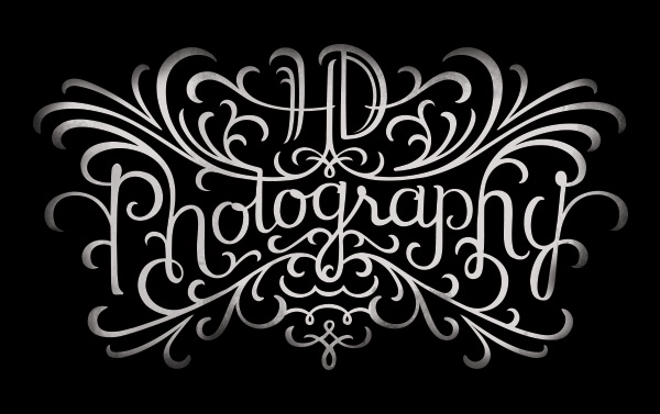 HD PHOTOGRAPHY LOGO Becca Clason Lettering Artist