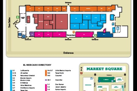 san antonio market square map » Full HD MAPS Locations - Another ...