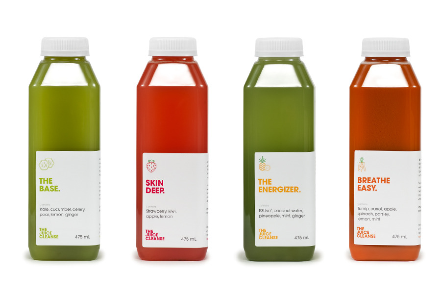 The Juice Cleanse - Glasfurd & Walker : Concept / Graphic Design / Art Direction : Vancouver, BC
