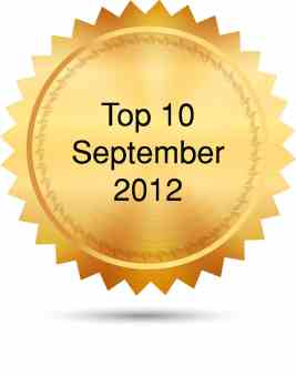 Top 10 September 2012