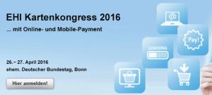EHI Kartenkongress 2016